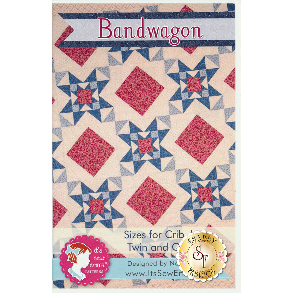 Bandwagon Quilt Pattern by Its Sew Emma