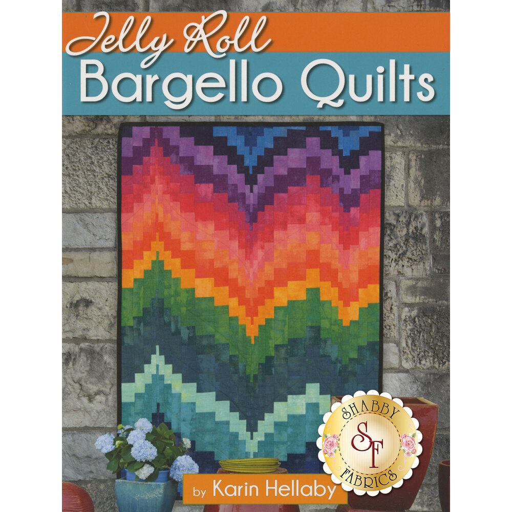 Jelly Roll Bargello Quilts Book from Karin Hellaby | Shabby Fabrics