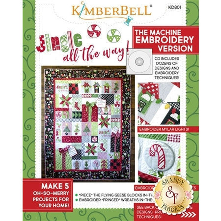 Jingle All The Way! CD for Machine Embroidery