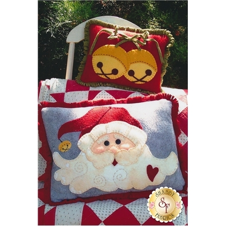 Jingle Bell Santa Pillows Pattern