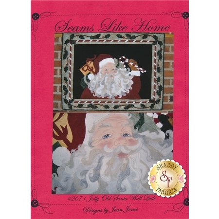 Jolly Old Santa Wall Quilt Pattern