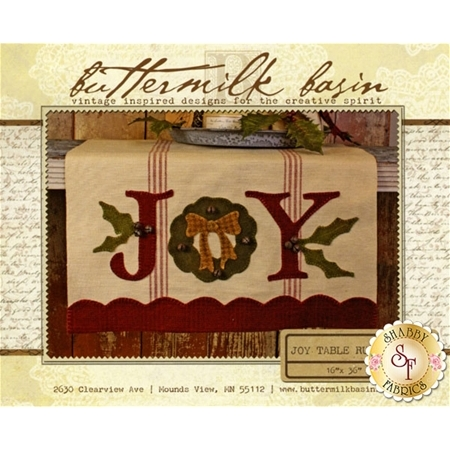 Joy Table Runner Pattern