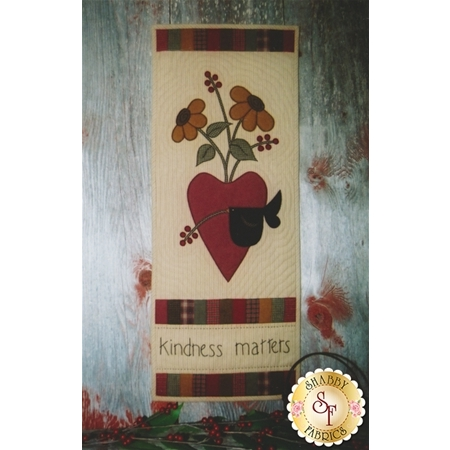 Back Door Quilt Series - Kindness Matters pattern standard size