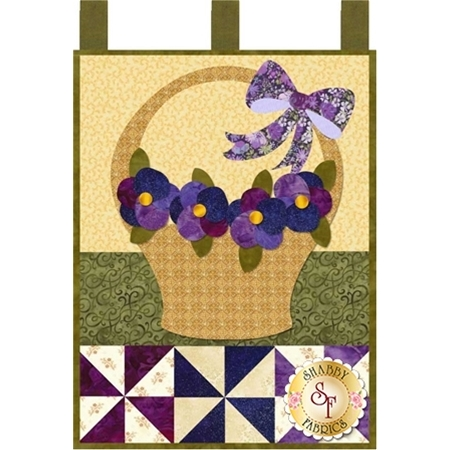 Little Blessings - Pansies for Mom - May - Pattern