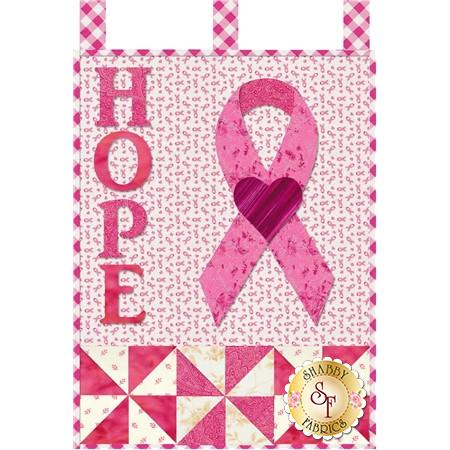 Little Blessings - Pink Ribbon Pattern
