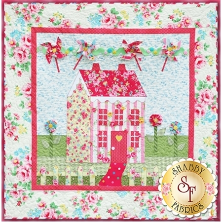 Little Garden House in Spring Pattern