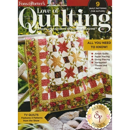 Love Of Quilting Sept/Oct 2016 Magazine