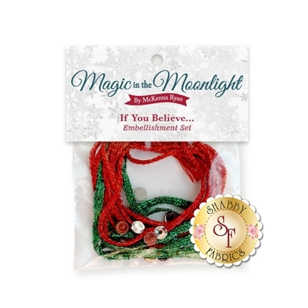 Magic In The Moonlight - If You Believe... Embellishing Kit