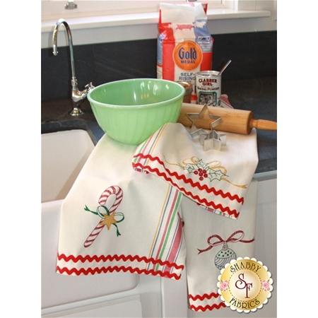 Merry Merry Dish Towels Pattern
