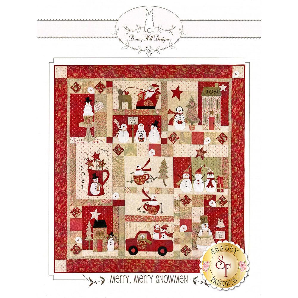 Merry, Merry Snowmen Pattern