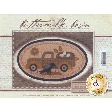 Mini Vintage Truck Thru The Year - May Pattern