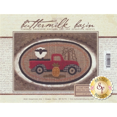 Mini Vintage Truck Thru The Year - August Pattern