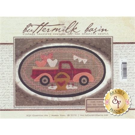 Mini Vintage Truck Thru The Year - February Pattern