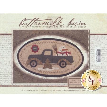 Mini Vintage Truck Thru The Year - January Pattern