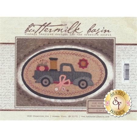 Mini Vintage Truck Thru The Year - June Pattern