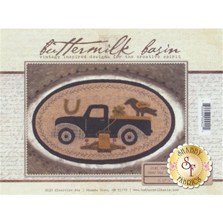 Mini Vintage Truck Thru The Year - March Pattern