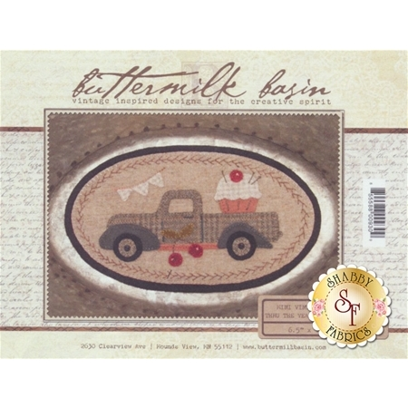 Mini Vintage Truck Thru The Year - November Pattern