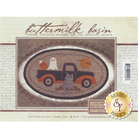 Mini Vintage Truck Thru The Year - October Pattern