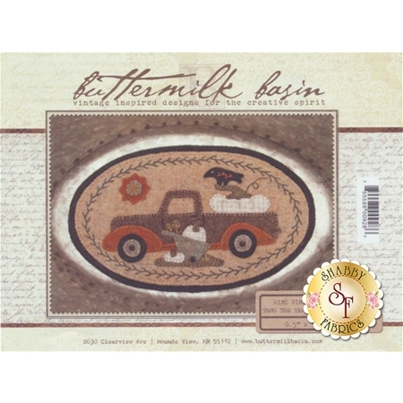 Mini Vintage Truck Thru The Year - September Pattern