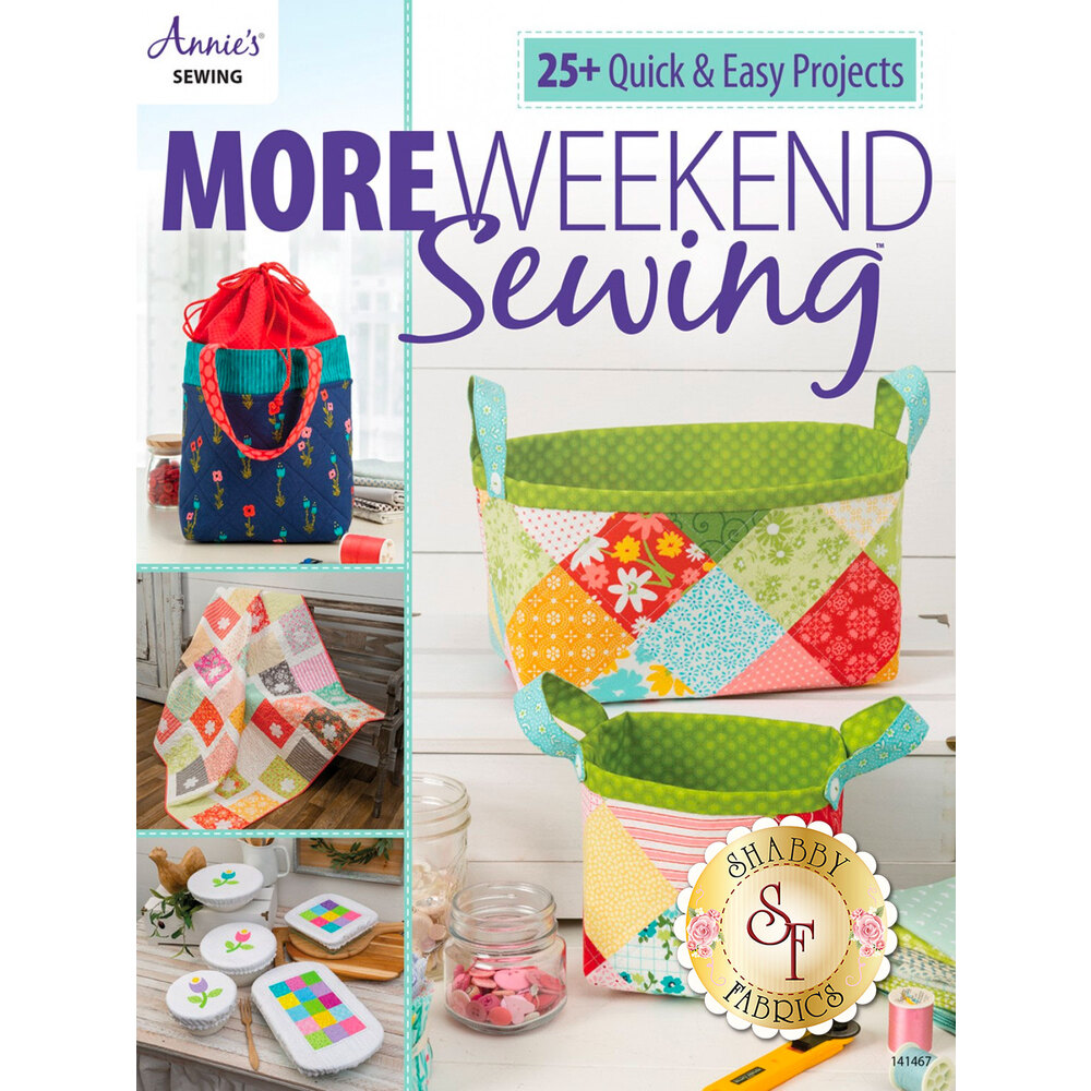 More Weekend Sewing Book by Annie's Sewing | Shabby Fabrics