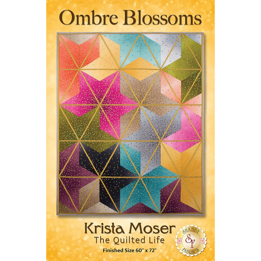 Ombre Blossoms Pattern from The Quilted Life