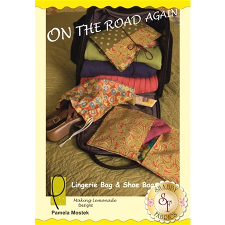 On The Road Again Lingerie and Shoe Bag Pattern