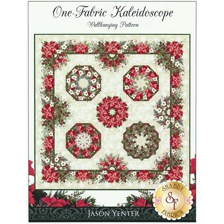 One-Fabric Kaleidoscope Wallhanging Pattern