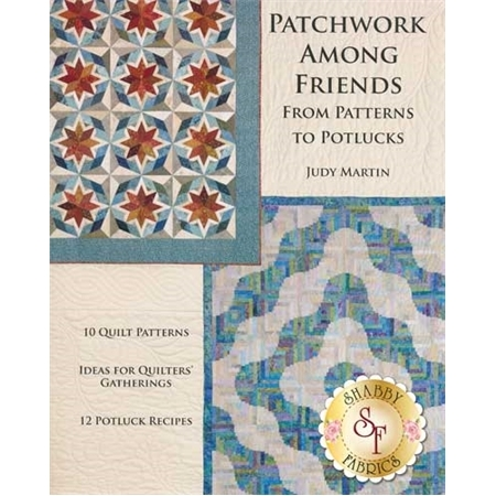Patchwork Among Friends Book