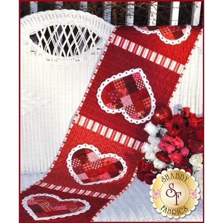 Patchwork Valentine Table Runner Kit