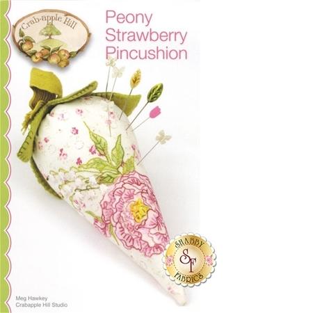 Peony Strawberry Pincushion Pattern