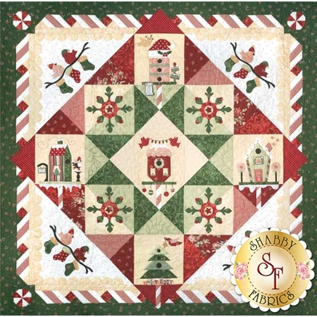 Peppermint Place - Set of 6 Patterns + Accessory Fabric Pack