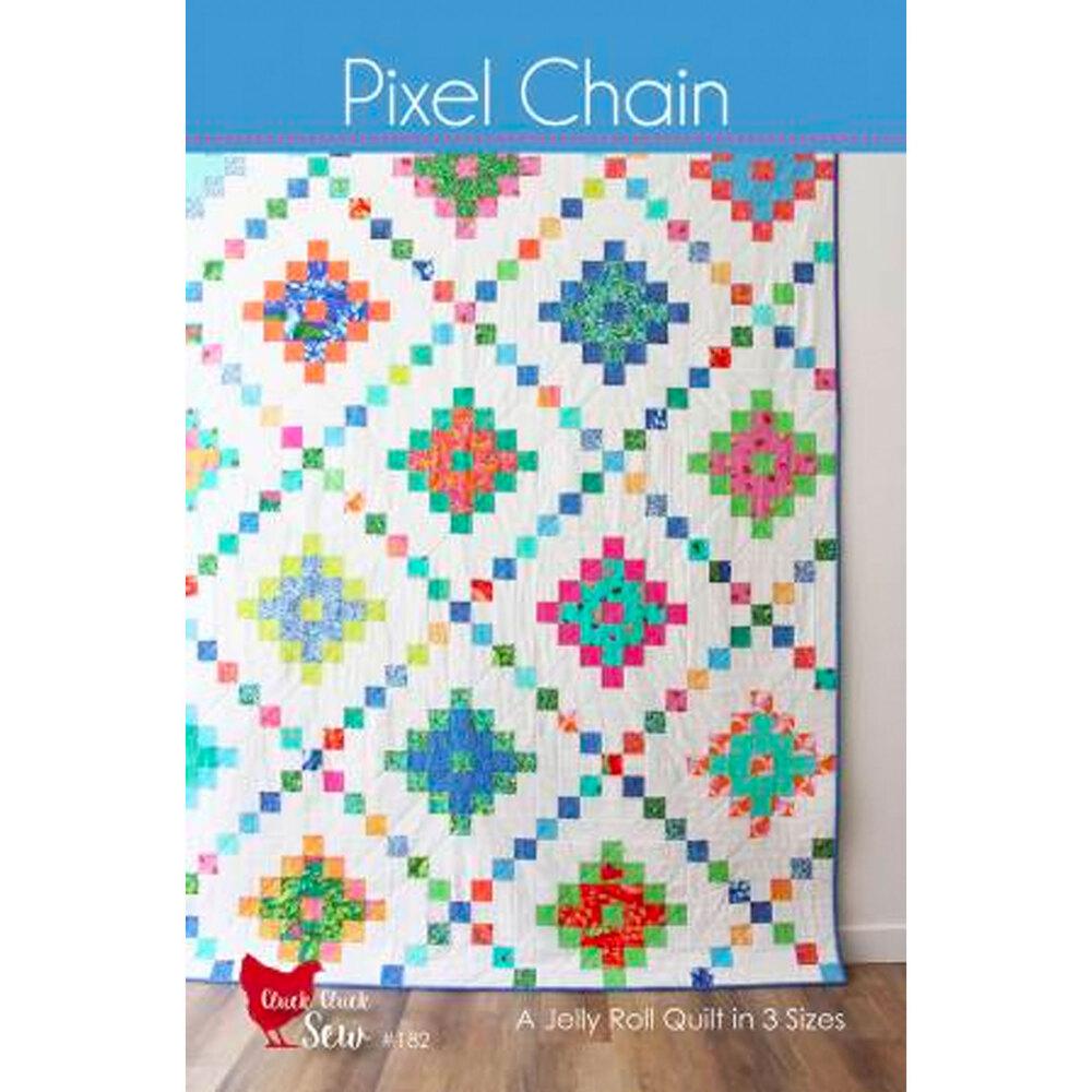 Pixel Chain Pattern Front