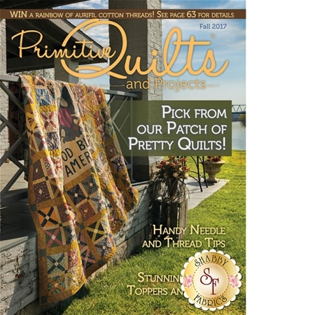 Primitive Quilts & Projects - Fall 2017 Magazine