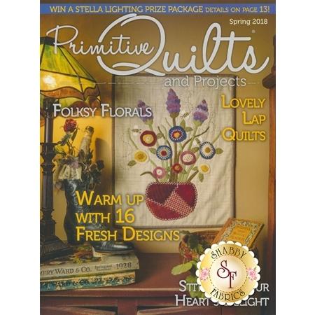 Primitive Quilts & Projects - Spring 2018 Magazine