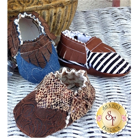 Quilted Baby Moccasins Pattern