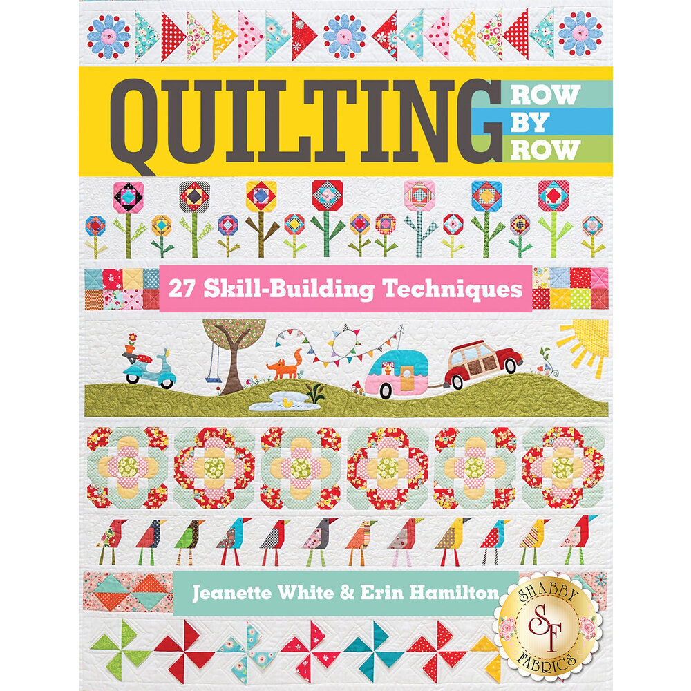 Quilting Row By Row Book - The Piper's Girls