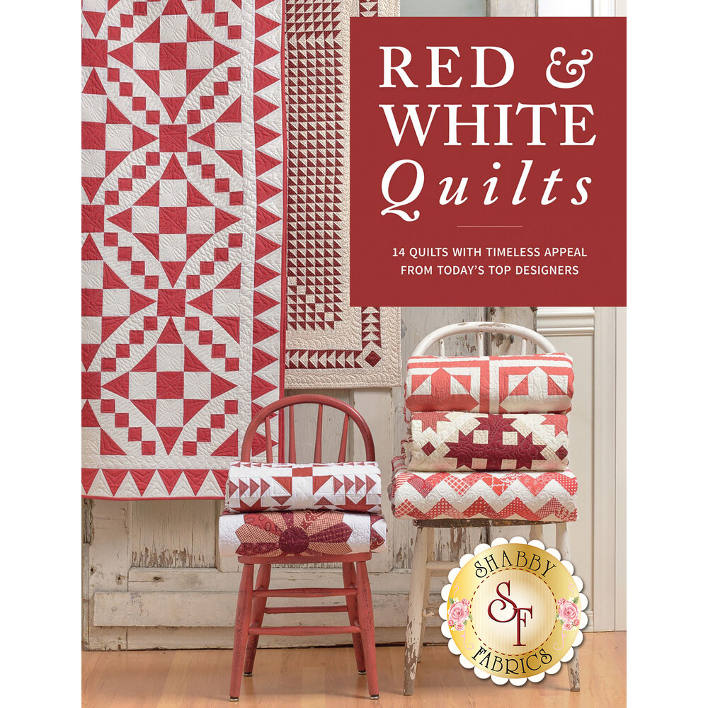 Red and White Quilts Book from Martingale