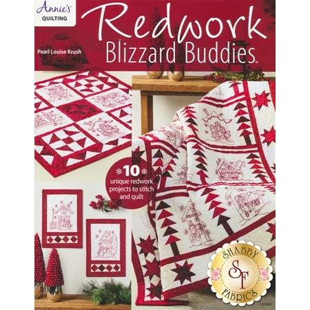 Redwork Blizzard Buddies Book