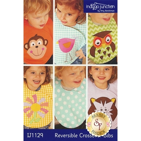 Reversible Crossover Bibs Pattern