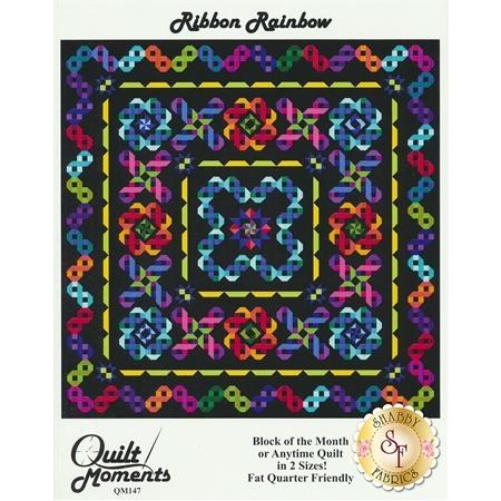 Ribbon Rainbow Quilt