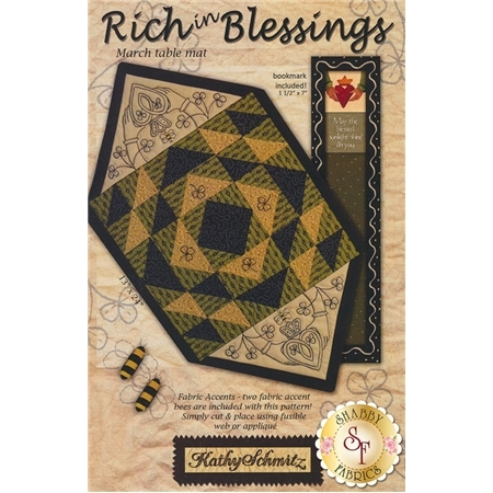 Rich In Blessings - March Table Mat Pattern