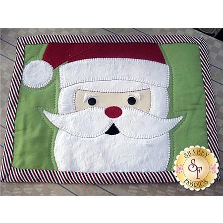 Santa Mug Rug Pattern