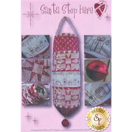 Santa Stop Here Bag Pattern