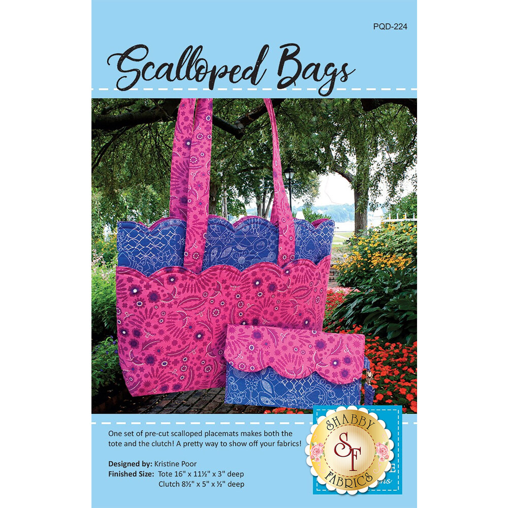 Scalloped Bags Pattern