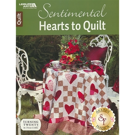 Sentimental Hearts To Quilt Book