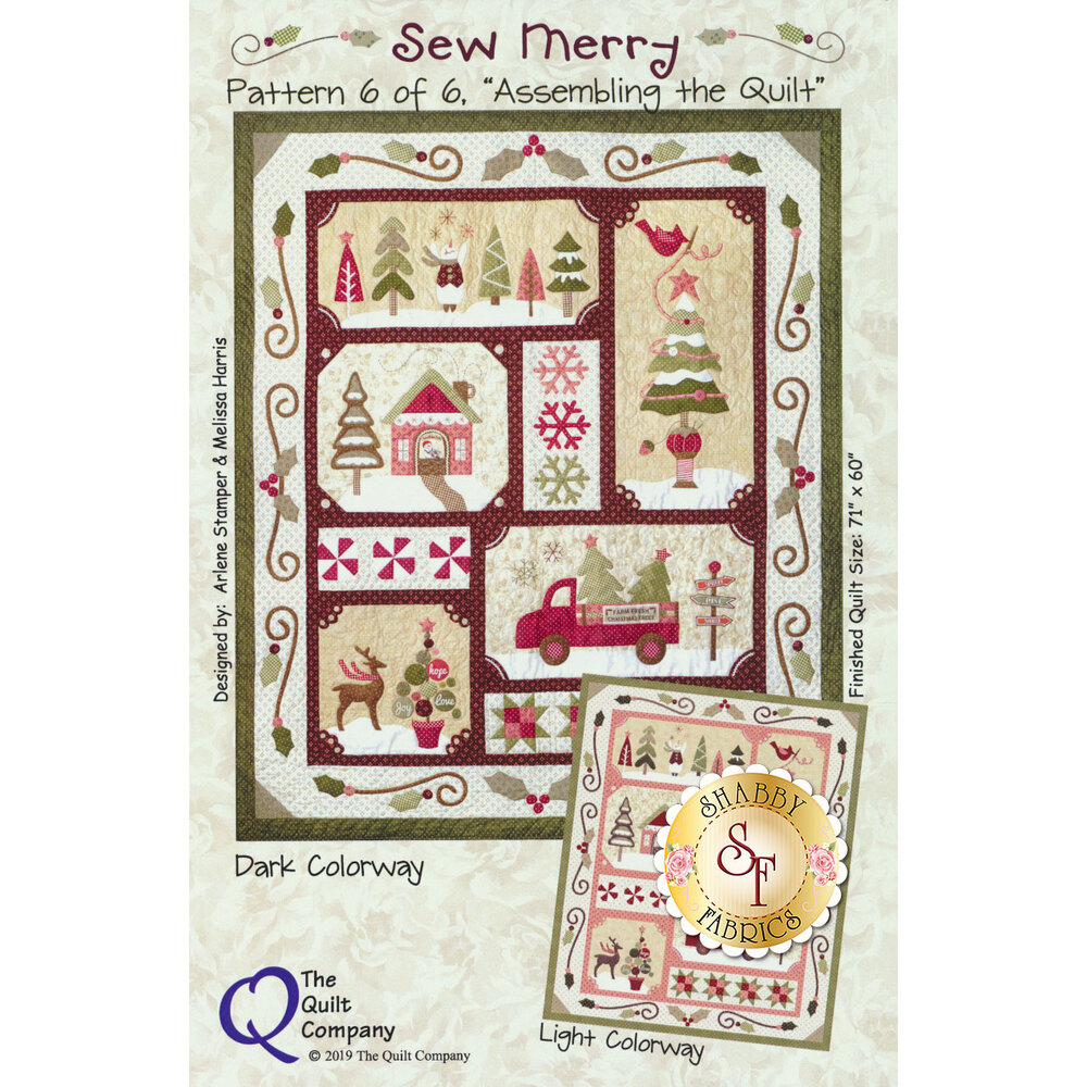 The image of the Sew Merry quilt