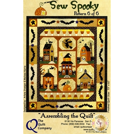 Sew Spooky Quilt - Complete Pattern Set