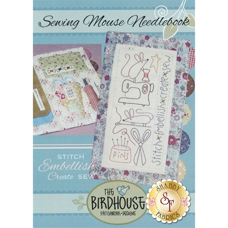 Sewing Mouse Needlebook Pattern