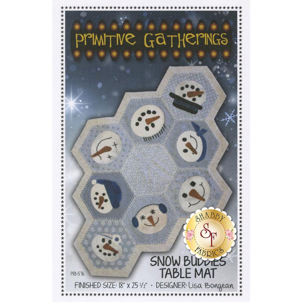 Snow Buddies Table Mat Pattern