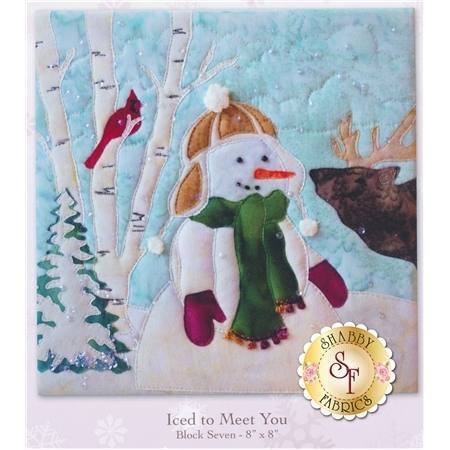 Snow Buds - Iced To Meet You Pattern